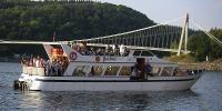 Vyhlídkové plavby lodí Viktorie po Vranovské přehradě s ochutnávkami vín